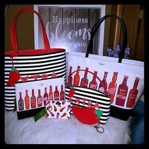 Kate spade hot stuff extra spicy Chili collection